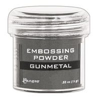 Ranger Empossing Powder- GUNMETAL METALLIC