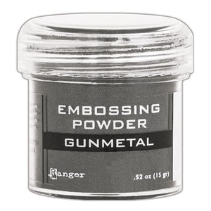 Ranger Embossing Powder- GUNMETAL METALLIC