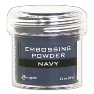 Ranger Empossing Powder- NAVY METALLIC