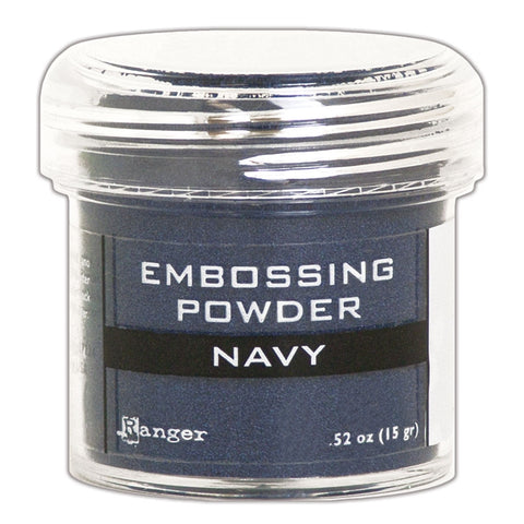 Ranger Embossing Powder- NAVY METALLIC