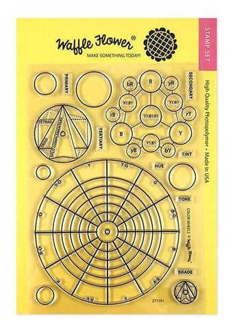 Waffle Flower COLOR WHEELS Stamps 271191