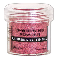 RASPBERRY TINSEL- RANGER EMBOSSING POWDER