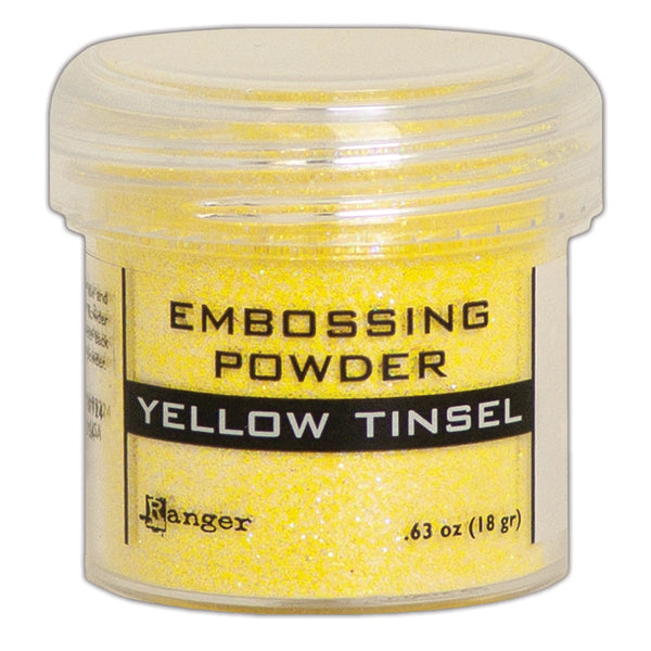 YELLOW TINSEL- RANGER EMBOSSING POWDER