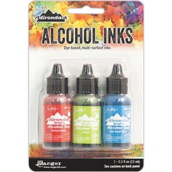 Tim Holtz Alcohol Ink Set DOCKSIDE PICNIC Ranger TAK25962