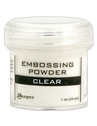 Ranger Empossing Powder 1 OZ - CLEAR