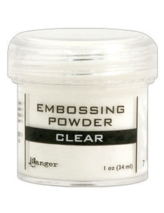 Ranger Embossing Powder 1 OZ - CLEAR