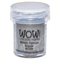 METALLIC PLATINUM -WOW! EMBOSSING powder