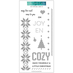 Cozy Christmas Stamps- Concord & 9th