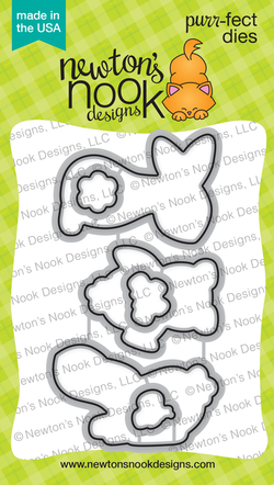 Bitty Bunnies Die Set  - Newton's Nook Designs