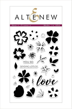 Heart Flowers Stamp Set - Altenew