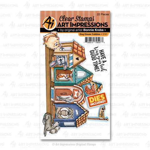 Art Impressions - Dog House Cubbies