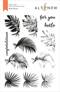 Wild Ferns Stamp Set - Altenew