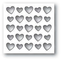 MEMORY BOX DIE - 94104 Heart Board craft die