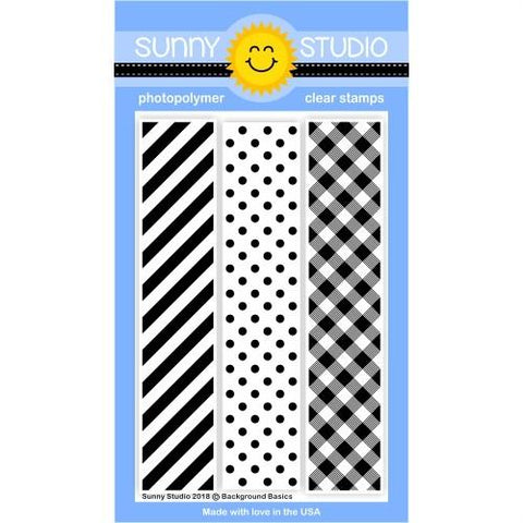 Background Basics Stamps- Sunny Studio Stamps