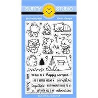 Critter Campout Stamps- Sunny Studio Stamps