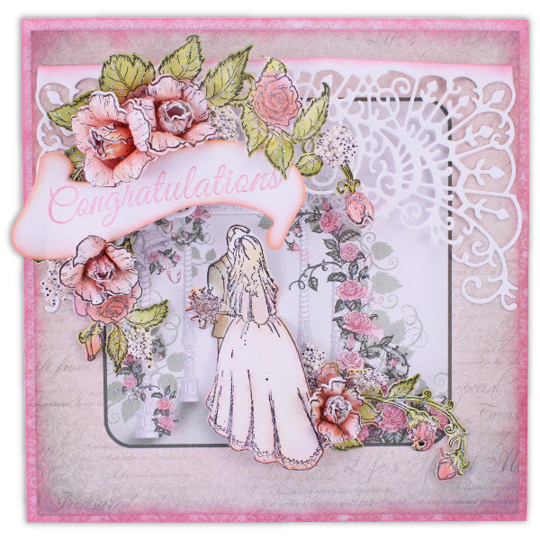 Classic Wedding Card Kit - Heartfelt Creations