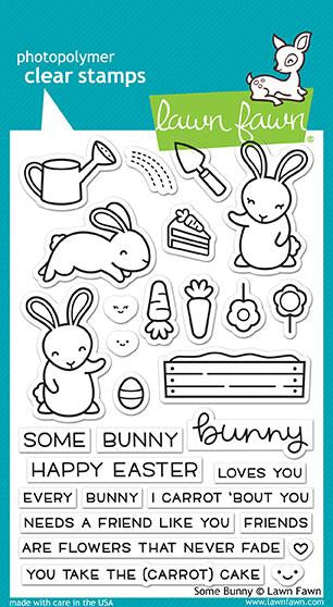 some bunny Stamps - some bunny LAWN FAWN Stamps
