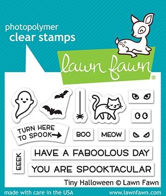 lawn fawn tiny halloween Stamps