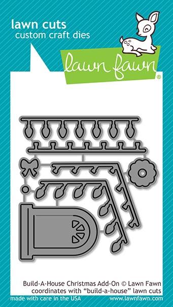 lawn fawn build-a-house christmas add-on Dies