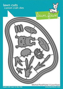 stitched pond frame - stitched pond frame LAWN FAWN Dies