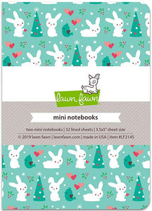 lawn fawn snow day remix - mini notebooks mini notebooks