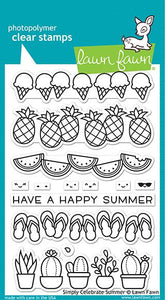 simply celebrate summer LAWN FAWN Stamps