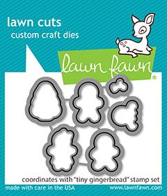 Tiny Gingerbread - Lawn Cuts Lawn Fawn Dies