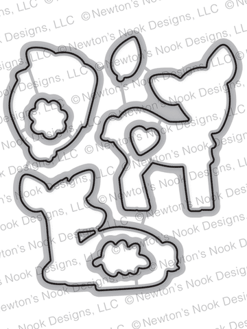 Deer Friend Die Set  - Newton's Nook Designs