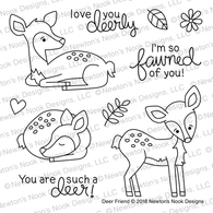Deer Friend Stamps Set  - Newton's Nook Designs