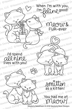 Newton's Sweetheart Stamps Set  - Newton's Nook Designs