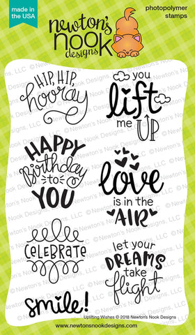 Uplifting Wishes  - Newton Nook Designs