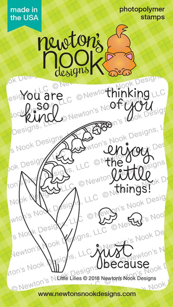 Little Lilies - Newton Nook Designs Stamps Set