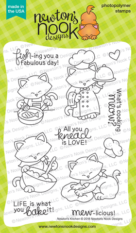 Newton's Kitchen Stamp Set Newton's Nook Designs