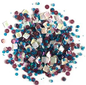 Lilac Lane Sequins - Gemstone - PS705