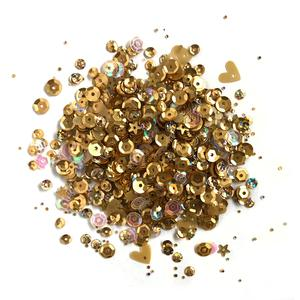 Lilac Lane Sequins - Golden - PS726