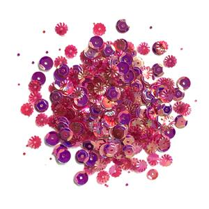 Lilac Lane Sequins - Wine - PS738