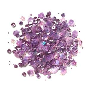 Lilac Lane Sequins - Lilac - PS747