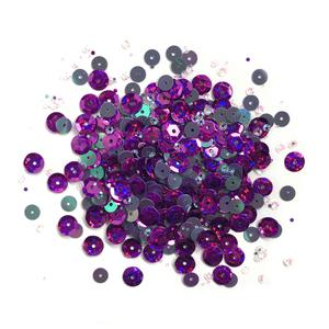 Lilac Lane Sequins - Grape - PS749