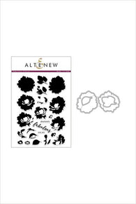 Fabulous Floral Stamp & Die Bundle - Altenew