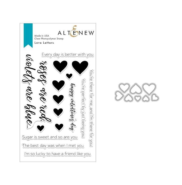 Love Letters Stamp & Die Bundle - ALTENEW