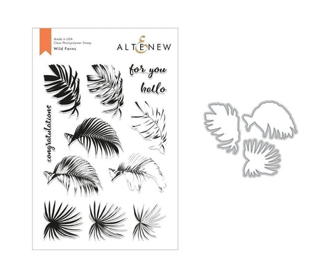 Wild Ferns Stamp & Die Bundle - Altenew