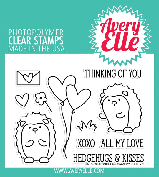 Hedgehugs Clear Stamps - Avery Elle