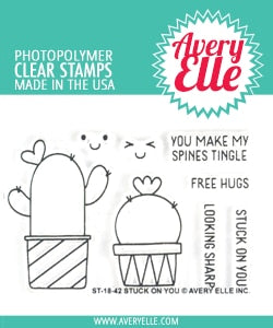 Stuck On You Clear Stamps - Avery Elle