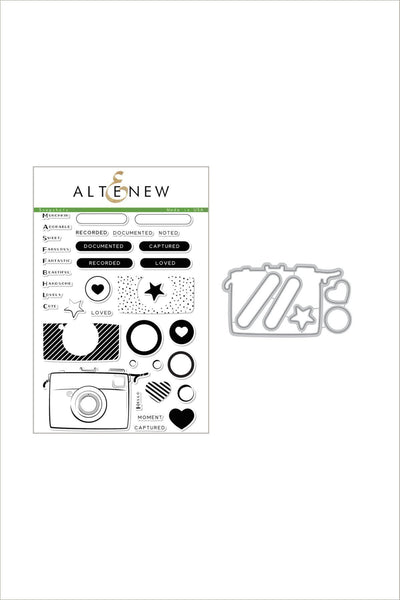 Snapshots Stamp & Die Bundle - Altenew