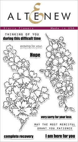 Starry Flowers Stamp Set - Altenew