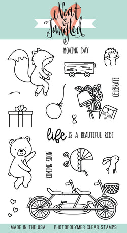 Ride with Me  Stamps- Neat & Tangled