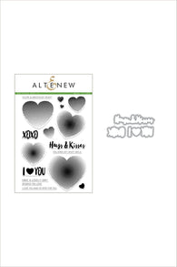 Halftone Hearts Stamp & Die Bundle - ALtenew