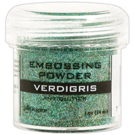 Ranger Embossing Powder Antiquities  1 OZ - VERDIGRIS