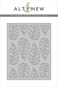 Striped Leaf Cover Die - ALTENEW
