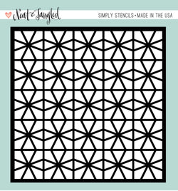 Geometric Circles - Simply Stencil- Neat & Tangled